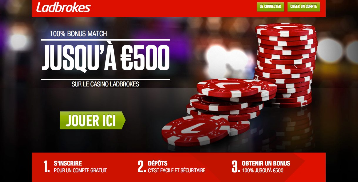 Ladbrokes Casino en Ligne