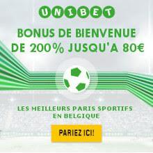 Unibet Paris Sportifs en Ligne
