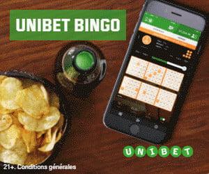 Unibet Bingo en Ligne